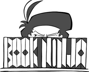 Bookninja transparent