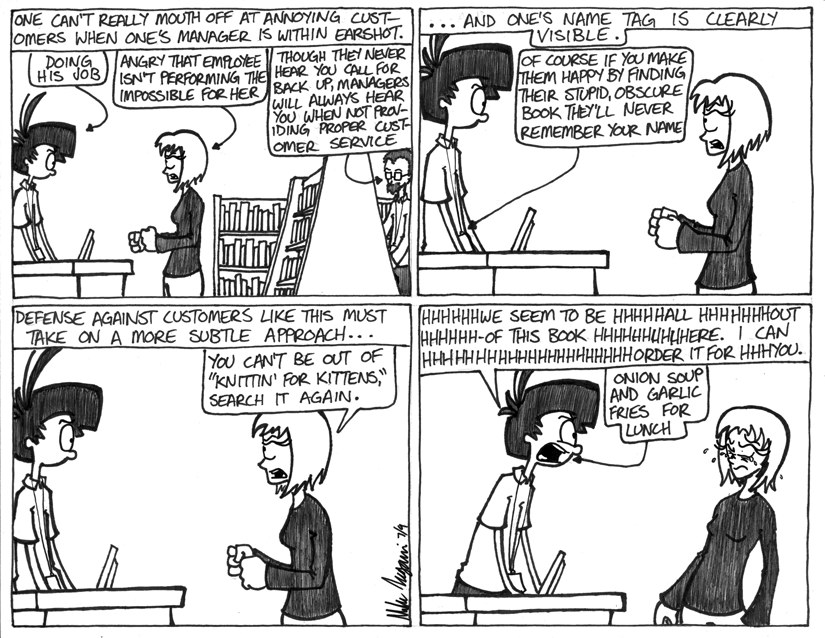 Theres A Lot Of Words In This Strip