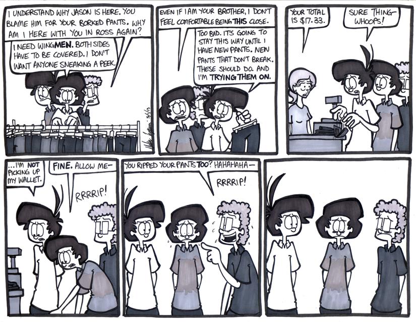The Pants Saga Part 2