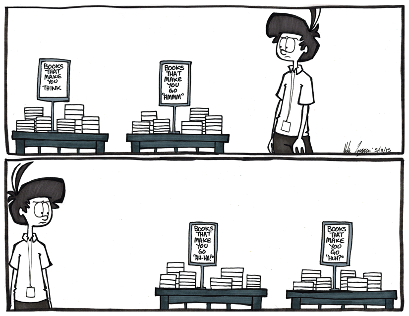Books That Make You…
